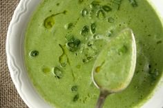 Feeding Friends: Sweet Pea and Green Onion Soup - Feed Me Phoebe