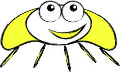 """""""Hello! I'm Mr Sun Beetle""""  This Rediscoveree was created by Maryn, Aged 5"""