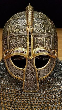 Join me here to keep up with what I'm learning or visit my martial arts history website; The History of Fighting Martial. Viking Armor, Viking Helmet, Medieval Armor, Viking Shield, Vikings, Escudo Viking, Chainmail Armor, Armor Concept, Anglo Saxon