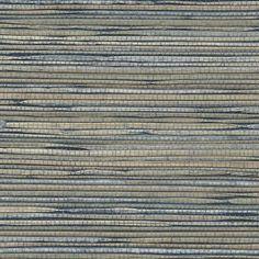 "$21/yard.  36"" wide.  Phillip Jeffries Grass Roots Classic Navy Wallpaper"