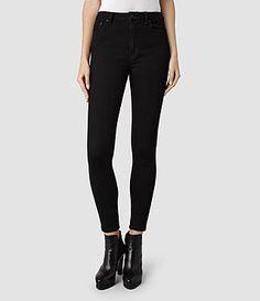 ALLSAINTS: Women's Denim Clothing | Shop AllSaints Denim