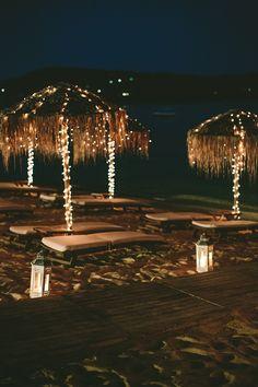 Beach Wedding decor   Luxury Destination Wedding in Greece
