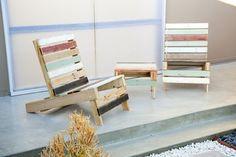 Designer Stühle Paletten-Design