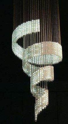 I want a room designed around this chandelier. Designer Chandler Lolita Chandelier by Ron Arad. Definitely a statement piece. Chandeliers, Chandelier Lighting, Luxury Chandelier, Light Fittings, Light Fixtures, Home Lighting, Lighting Design, Luxury Lighting, Lamp Light