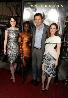 Julianne Moore, Liam Neeson, Michelle Dockery & Lupita Nyong'o