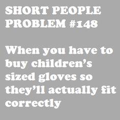 Short People Problem #148: always. all the rainbow, fuzzy, pom pom'd kids gloves haha