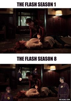 After watching this season's finale...The amount of Flash is too damn high!