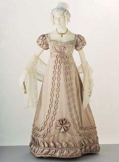 Moda inglese di inizio 1800, epoca Giorgio IV
