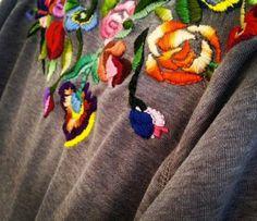 Идеи свадебных масок для фото / Свадебная мода / ВТОРАЯ УЛИЦА - Выкройки, мода и современное рукоделие и DIY Embroidery Stitches, Embroidery Designs, Heart Diy, Dares, Fiber Art, Color Mixing, Needlework, Crochet Necklace, Diy Crafts