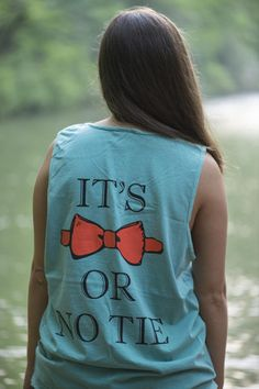 The Bow Tie Tank Top. Southern prep.