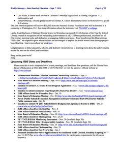 Media preview School Librarian, Year 2016, Math Teacher, Fourth Grade, Mathematics, Elementary Schools, High School, Science, Messages