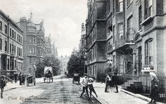 Framed Print-Rossetti Studios (right) at 72 Flood Street, Chelsea, London-Framed Print made in the USA