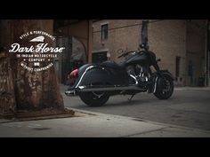 The new Indian Chief Dark Horse is black, unpolished and understated, with only a flash of chrome. Covered with Thunder Black Smoke Paint it delivers the sty. Victory Motorcycles, Indian Motorcycles, Indian Dark Horse, Smoke Painting, Motorcycle Companies, Hot Bikes, Black Smoke, Custom Bikes, Motor Car