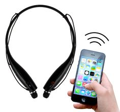 Rebelite Sport Neckband Bluetooth Headset w/ Magnetic Earbuds & Built-In Microphone for iPhone, Android, & Any Bluetooth Device Including Smartphones, Tablets, mp3 Players, & more (Basic Black). COMPATIBLE W/ All Bluetooth Enabled Devices including iPhone 4s, 5, 5s, 5c, 6, 6 Plus, iPod, iPad 3, iPad Air 2, iPad Mini 2, 3, Samsung Galaxy S6, S5, S4, S3, Samsung Galaxy Note 2 10.1, Google Nexus, Microsoft Surface, HTC, Motorola X & other smart phones and mp3 players. AROUND THE NECK DESIGN...