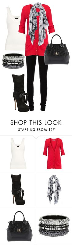 """""""Untitled #125"""" by chloe-604 ❤ liked on Polyvore featuring Donna Karan, Ann Demeulemeester, Soaked in Luxury, Casadei, Crumpet, Emilio Pucci and Dorothy Perkins"""