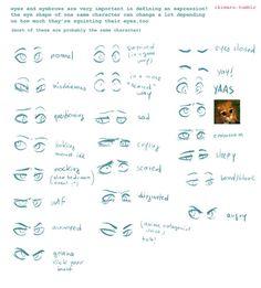 Eyebrow Expressions // Ikimaru