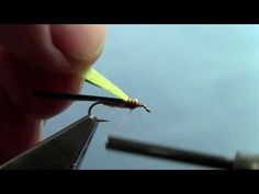Tying with Hans- Split Case PMD Nymph - YouTube