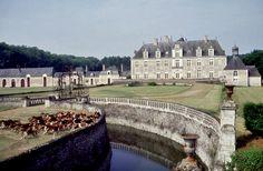 Château de Champchevrier. Indre-et-Loire. Centre