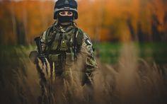 Italian Girl Soldier Army HD Wallpaper