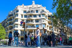 Casa Milà ( La Pedrera) experience – the sexiest masterpiece in Barcelona