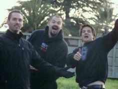 Nick Groff,Aaron Goodwin & Zak Bagans when they were younger