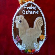Yummy Easter gingerbread from Germany!