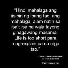 Tama! Tagalog Quotes, Pinoy