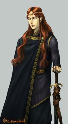 Maedhros<<<the look you give your brothers when they are kicked out of a place and come back home to YOU.