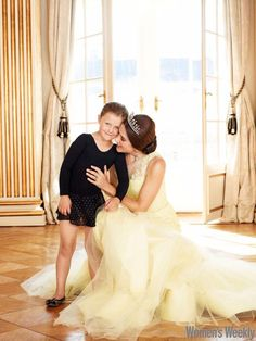 Crown Princess Mary and Princess Isabella of Denmark
