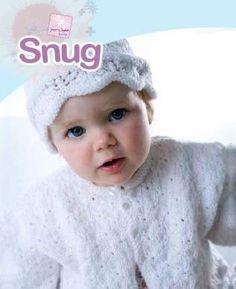 FREE PATTERN...Lace Baby Cardigan & Hat