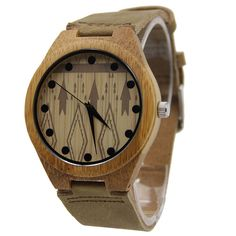 Wooden Watch, Eyewear, Bamboo, Quartz, Mens Fashion, Watches, Leather, Gifts, Marketing
