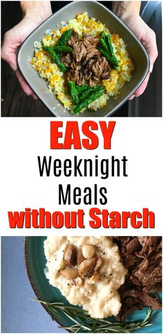 Quick meals in 10 minutes or less. #ad These easy meals have hidden veggies. PLUS, they use frozen starch replacements from @alexiafoods so you can stock up your frozen pantry and always be prepared for a last-minute meal that you can feel good about. #AlexiaVeggieSides #starchalternative #easymeals #weeknightmeals #quickmeals #10minutemeals #whatsfordinner #starchreplacement via @GetGreenBeWell