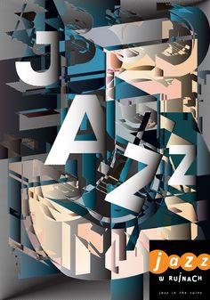 jazz in ruins, poster,  2016