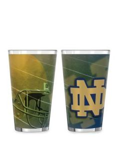 Boelter  16-oz. NCAA Notre Dame Fighting Irish 2-pack Shadow Sublimate