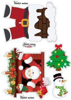 Christmas Templates, Christmas Stickers, Christmas Clipart, Christmas Printables, Christmas Cake Topper, Christmas Deco, Edible Printing, Diy Advent Calendar, Christmas Drawing
