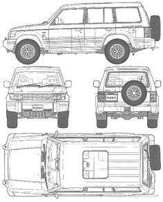Mitsubishi Pajero Montero 1991 1992 Workshop Service