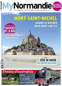 Mont-Saint-Michel. Quand le Rocher redevient une île. - mynormandie