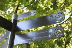 Elegant, high quality signage in Amsterdam. Visit the slowottawa.ca boards:  http://www.pinterest.com/slowottawa/