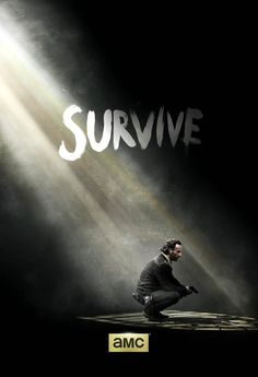 "The Walking Dead Season 5: Rick Grimes' Heavenly ""Survive"" Poster — Hints of What's to Come"