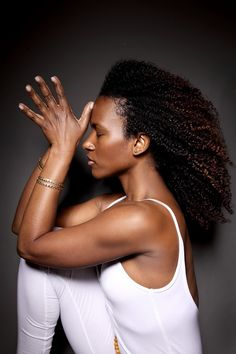love her hair #beauty #africanamerican #naturalhair