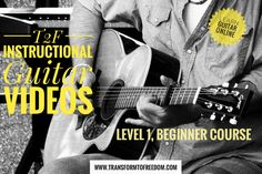 The Level 1 Course is an Introduction to the guitar, the musical alphabet, tones, and semitones, and the chromatic scale in the 1st position, & much more. A worksheet is included within all videos. http://tinyurl.com/ztl3ztd