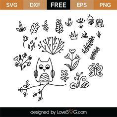 Free Nature 2 SVG Cut File