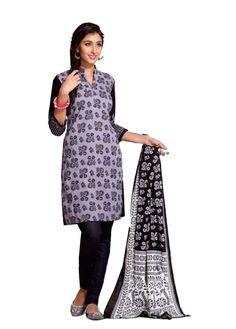 Black Beauty Salwar Material - 204 - Online Shopping Marketplace Shopdrill.com