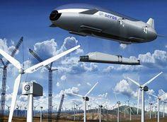Empresa Aeros Corp está desenvolvendo um dirigível (Aeroscraft) para transportar até 500 toneladas de carga.