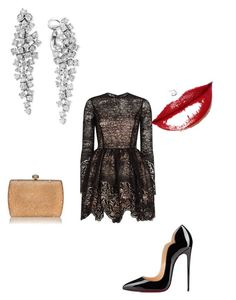 """""""Untitled #30"""" by mariecurie76 on Polyvore featuring Alexis, Christian Louboutin and Effy Jewelry"""