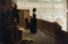 Color & Light - Henry Lerolle - The Organ Rehearsal - 1885