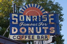 Sonrise Donuts - Along Illinois' Route 66 by queenodesign