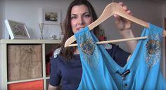 He aquí una solución simple y creativa para el eterno problema de las prendas sedosas que se caen de los ganchos.