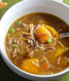 This hearty Leftover Turkey Stew with Butternut Squash recipe is a perfect way to make use of Thanksgiving turkey leftovers! #Thanksgiving #leftoverturkey #leftovers #turkeystew