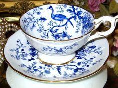 COBALT-BLUE-CAIRO-COALPORT-TEA-CUP-AND-SAUCER-SET